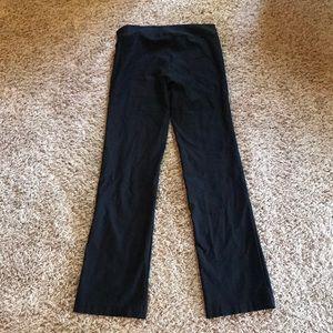 Stretchy black pants